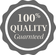PCI Wellness badge 100% quality guaranteed