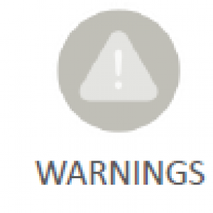 Warnings Icon