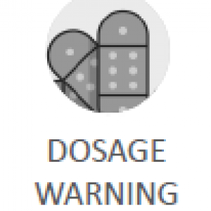 Dosage Warning Icon